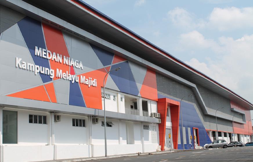 Medan Niaga Kampung Melayu Majidi